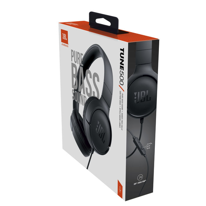 JBL T500 Black - thumb - MediaWorld.it