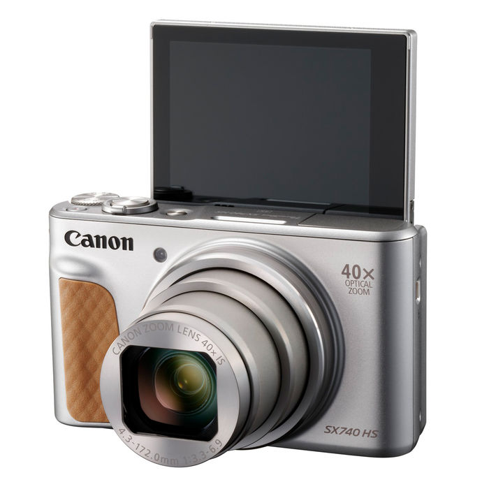 CANON SX 740 SILVER - thumb - MediaWorld.it