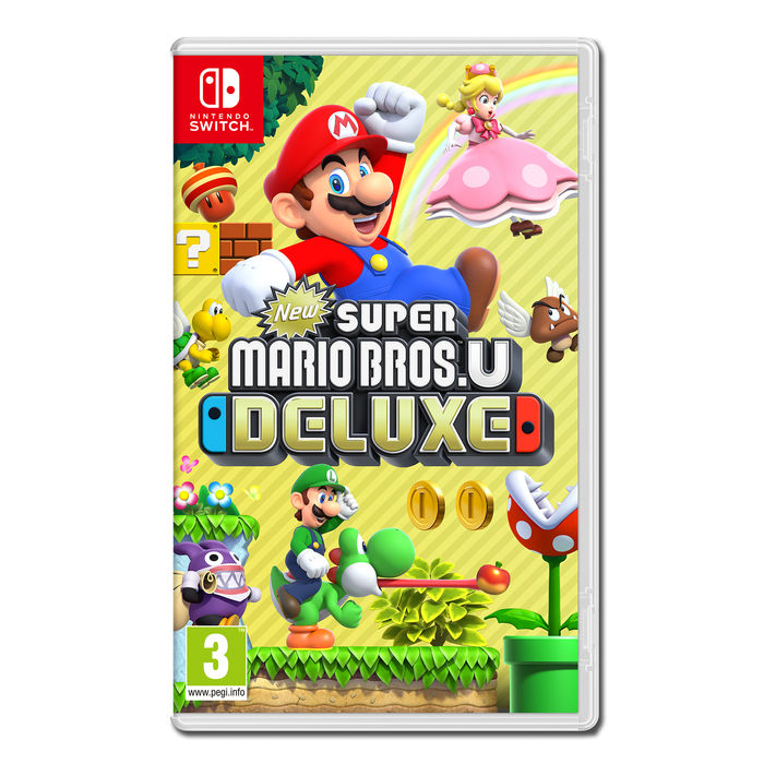New Super Mario Bros U Deluxe - NSW - thumb - MediaWorld.it