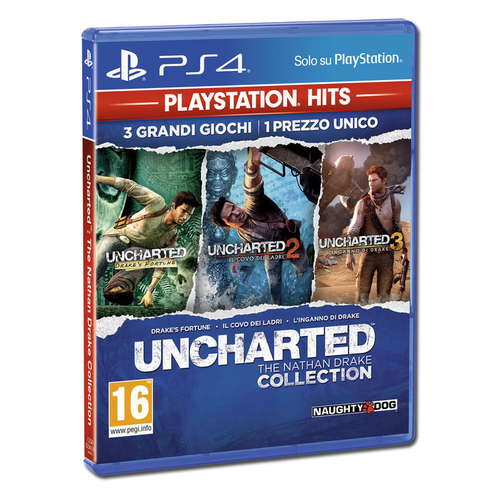 UNCHARTED The Nathan Drake Collection - PS4 - thumb - MediaWorld.it