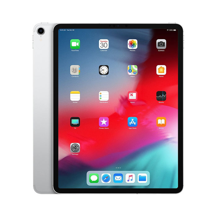 "APPLE iPad Pro 12,9"" 2018 Wi-Fi + Cellular 64GB Argento - thumb - MediaWorld.it"
