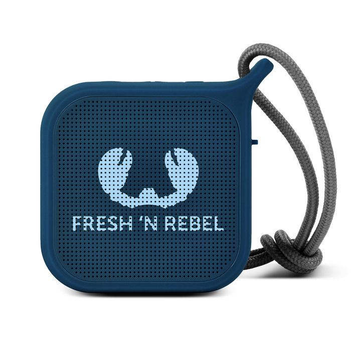 FRESH 'N REBEL 8GIFT04IN Vibe + Rockbox Pebble Indigo - thumb - MediaWorld.it