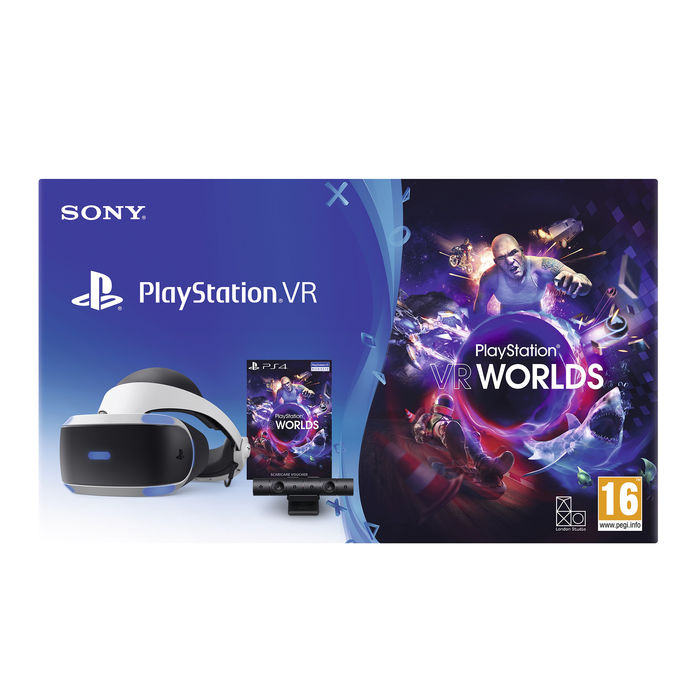SONY PlayStation VR CUHZVR2 + PS Camera + VR Worlds Voucher - thumb - MediaWorld.it