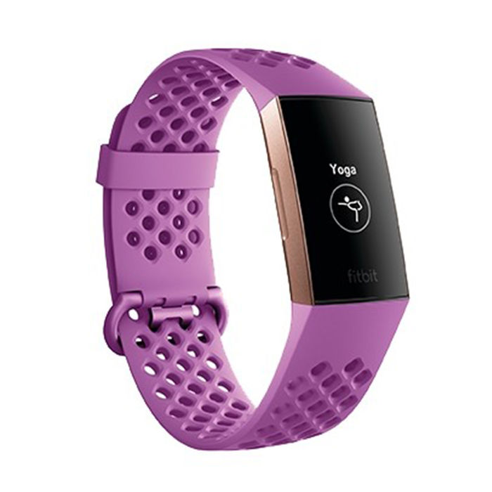 FITBIT Charge 3 Limited Edition Lampone - thumb - MediaWorld.it