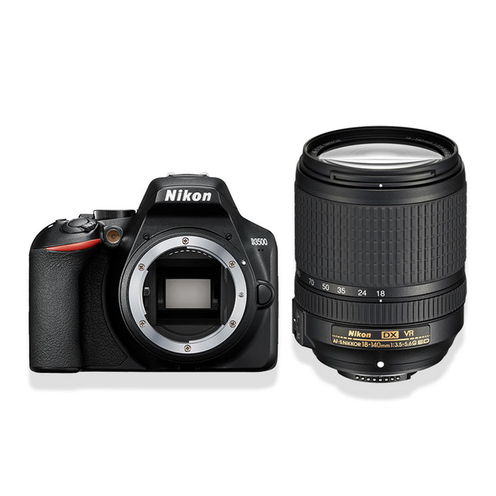 NIKON D3500 + 18/140VR BLACK - thumb - MediaWorld.it