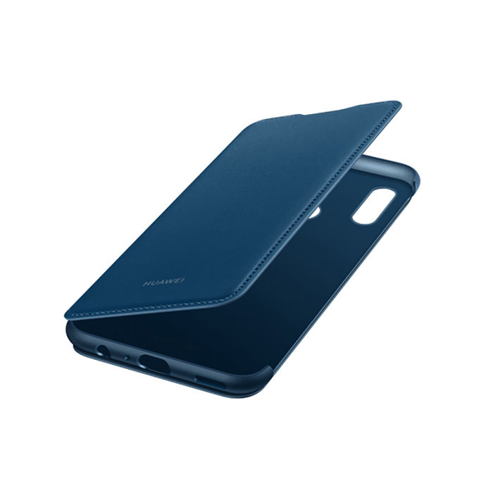 HUAWEI Flip Cover P Smart 2019 Blu - thumb - MediaWorld.it