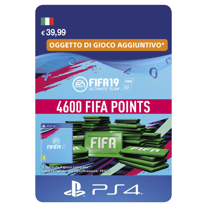 FIFA 19 4600 POINTS ESD - thumb - MediaWorld.it