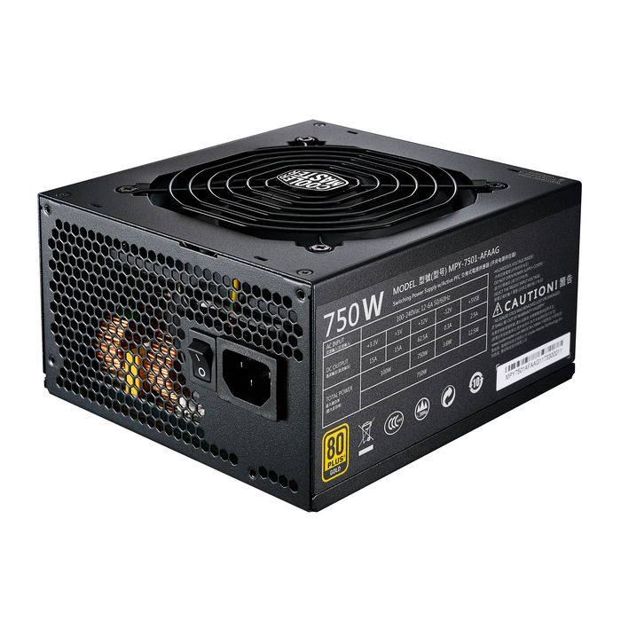 COOLERMASTER MWE GOLD 750 (EU) MODULAR - thumb - MediaWorld.it