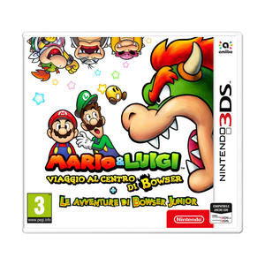 Mario & Luigi Viaggio al centro di Bowser + Le avventure di Bowser Junior - 3DS - thumb - MediaWorld.it