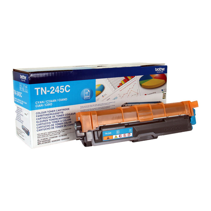BROTHER TONER TN245 CIANO - thumb - MediaWorld.it