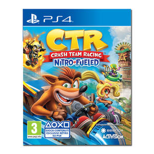 Crash Team Racing Nitro-Fueled - PS4 - MediaWorld.it