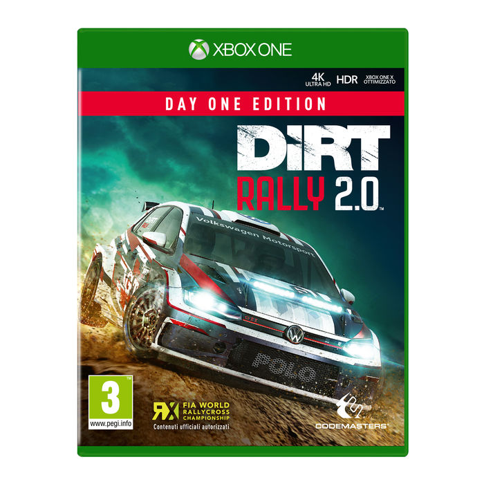 DiRT Rally 2.0 - Day One Edition - XBOX ONE - thumb - MediaWorld.it