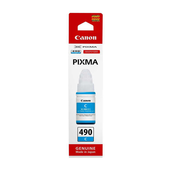 CANON CARTUCCIA INK GI-490 C - thumb - MediaWorld.it