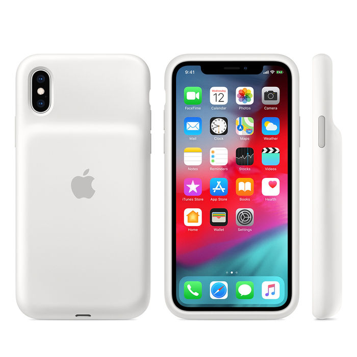 APPLE Smart Battery Case per iPhone XS - Bianco - thumb - MediaWorld.it