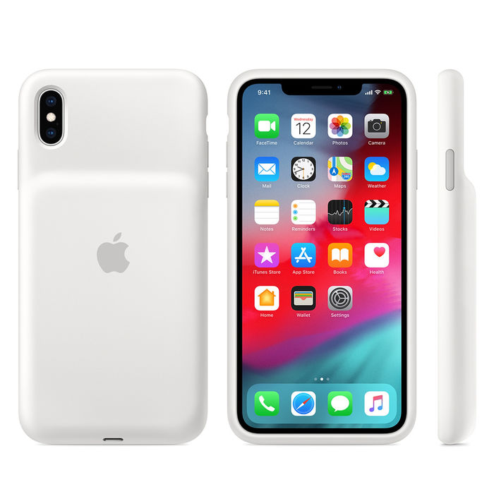 APPLE Smart Battery Case per iPhone XS Max - Bianco - thumb - MediaWorld.it