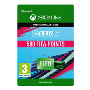 MICROSOFT Ultimate Team Fifa 19 Points 500 - thumb - MediaWorld.it