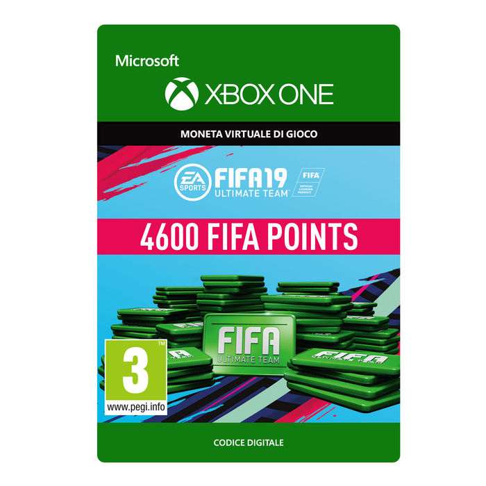 MICROSOFT Ultimate Team Fifa 19 Points 4600 - thumb - MediaWorld.it