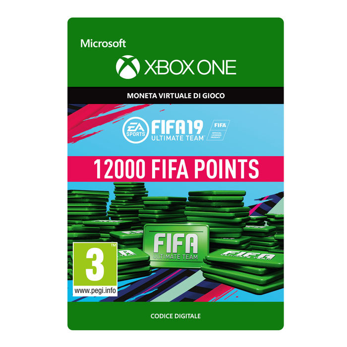 MICROSOFT Ultimate Team Fifa 19 Points 12000 - thumb - MediaWorld.it