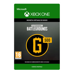 MICROSOFT PLAYERUNKNOWN'S BATTLEGROUNDS 500 G-COIN - thumb - MediaWorld.it