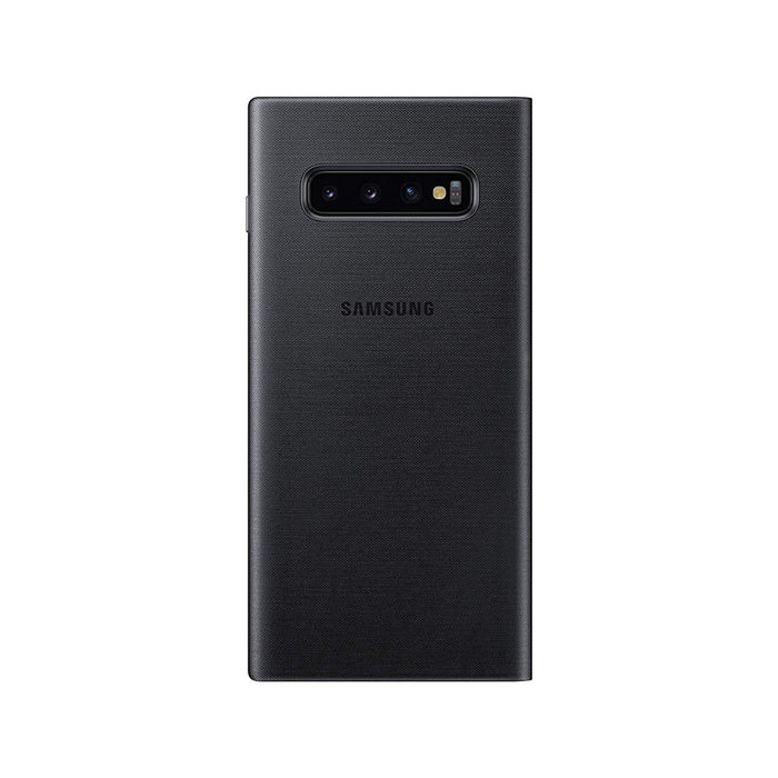 SAMSUNG LED View Cover Galaxy S10+ Black - thumb - MediaWorld.it
