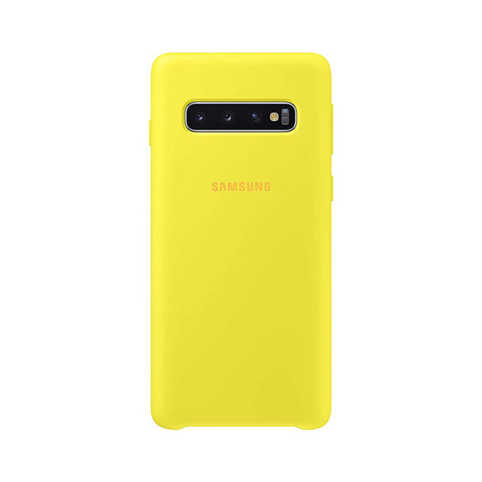 SAMSUNG Cover Silicone Galaxy S10 Giallo - thumb - MediaWorld.it