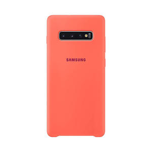 SAMSUNG Cover Silicone Galaxy S10+ Pink - thumb - MediaWorld.it