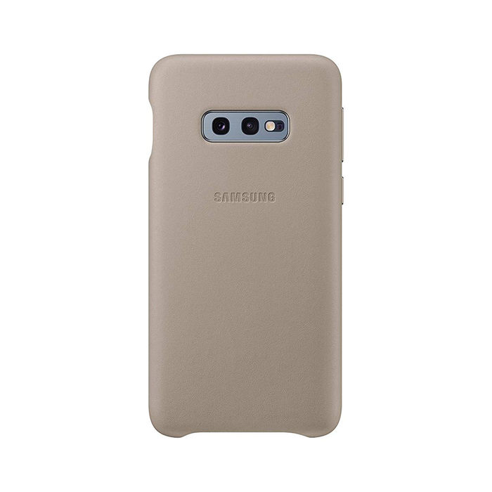 SAMSUNG Cover Pelle Galaxy S10e Grey - thumb - MediaWorld.it