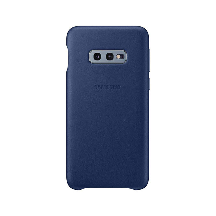 SAMSUNG Cover Pelle Galaxy S10e Navy - thumb - MediaWorld.it
