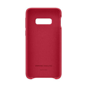 SAMSUNG Cover Pelle Galaxy S10e Red - MediaWorld.it