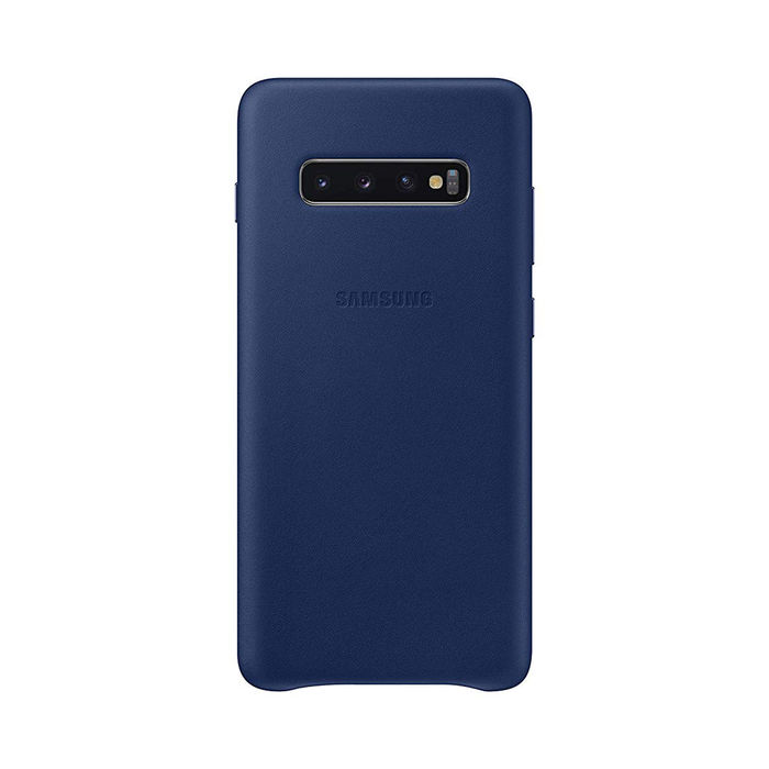 SAMSUNG Cover Pelle Galaxy S10+ Navy - thumb - MediaWorld.it