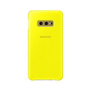 SAMSUNG Clear View Cover Galaxy S10e Giallo - MediaWorld.it