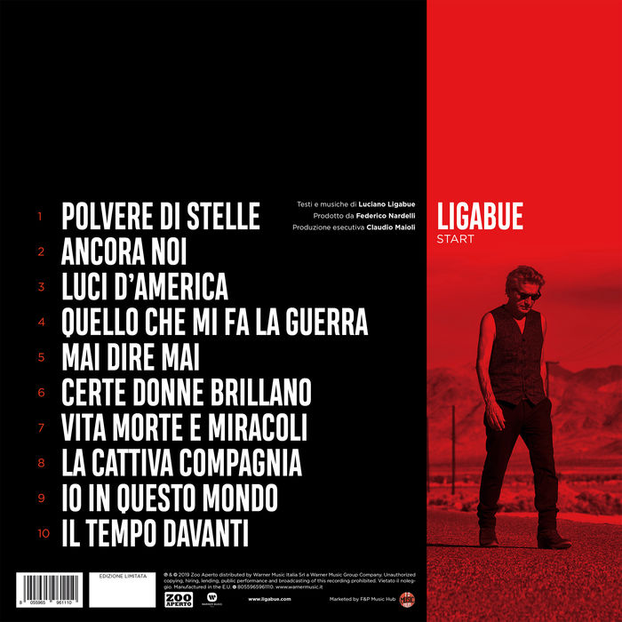 Ligabue - Start - Box Numerato - Vinile+CD - thumb - MediaWorld.it