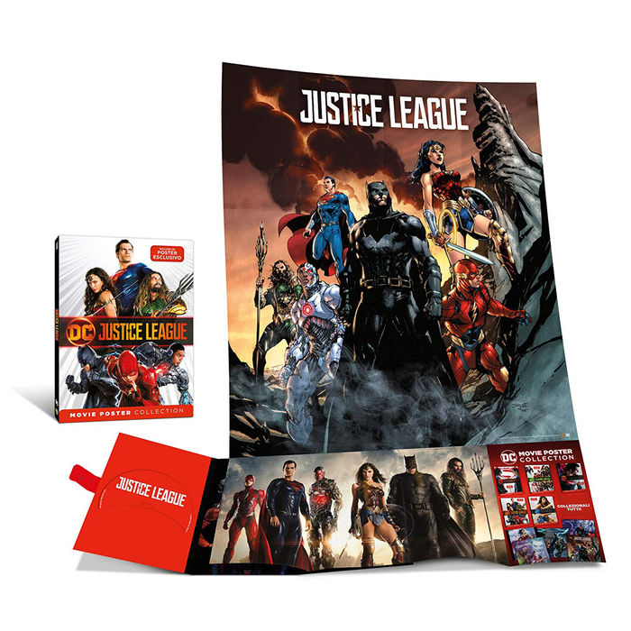 Justice League - Movie Poster - DVD - thumb - MediaWorld.it