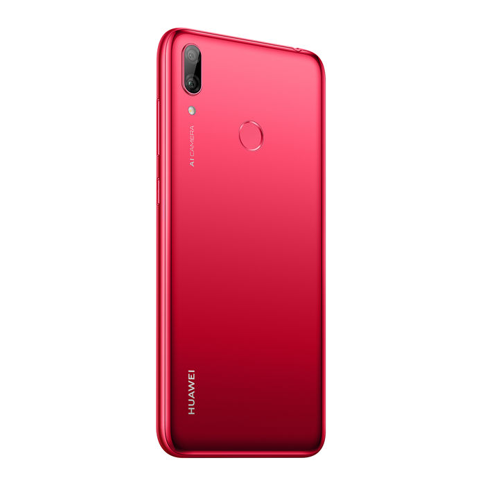 HUAWEI Y7 2019 Coral Red - thumb - MediaWorld.it