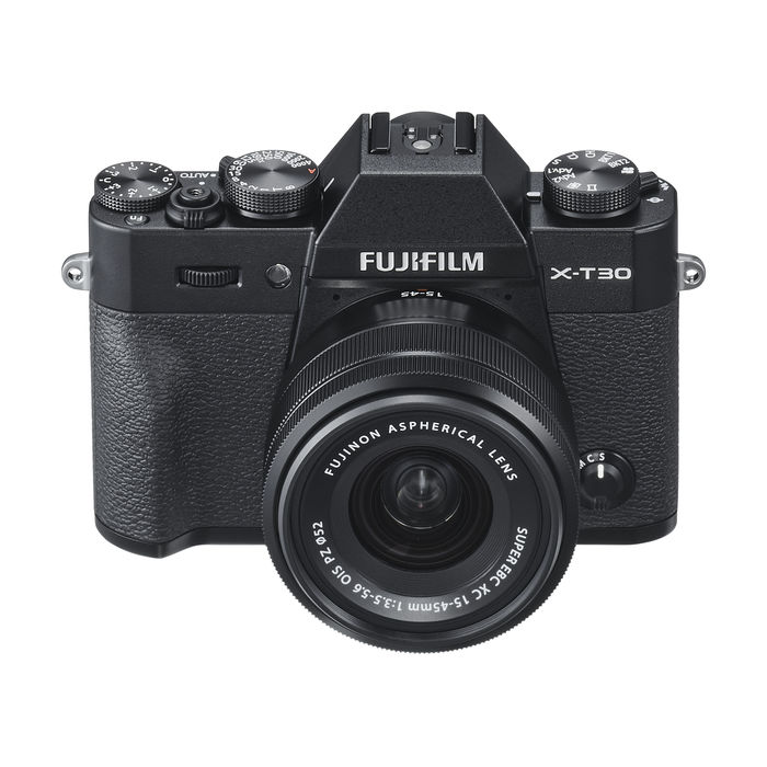 FUJIFILM X-T30 KIT XC15-45MM BLACK - thumb - MediaWorld.it