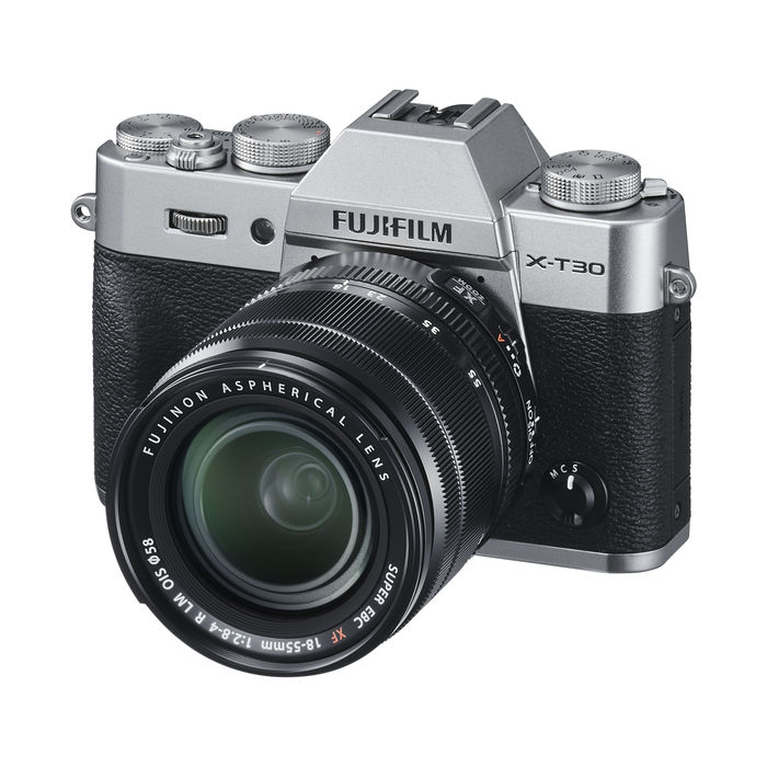 FUJIFILM X-T30 KIT XF18-55MM SILVER - thumb - MediaWorld.it