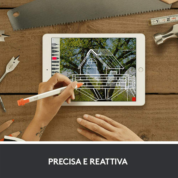 LOGITECH CRAYON PENCIL FOR APPLE - thumb - MediaWorld.it