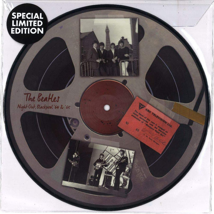 picture disc vinile  BEATLES - Live In Blackpool 1964 And 1965 (10 Inch Picture Disc ...