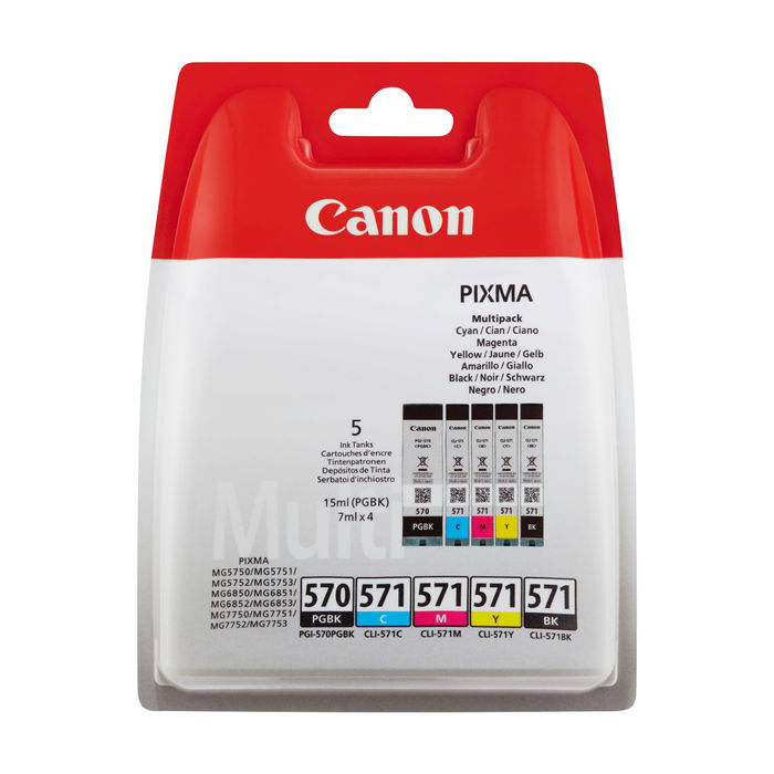 CANON MULTIPACK PGI570/CLI571 - thumb - MediaWorld.it