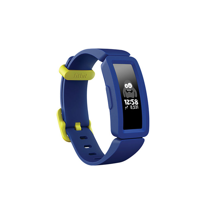 FITBIT ACE 2 blu notte/giallo limone - thumb - MediaWorld.it