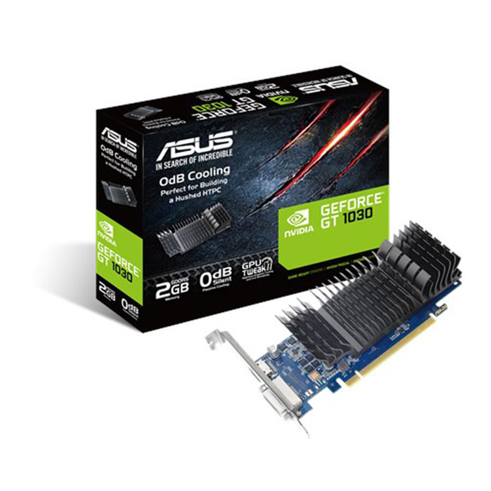 ASUS GeForce® GT 1030 GT1030-SL-2G-BRK - thumb - MediaWorld.it