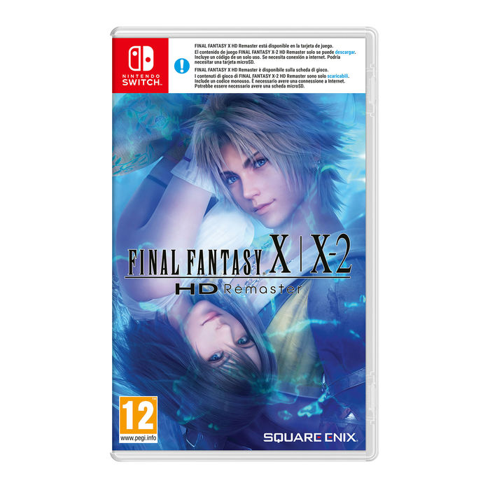 Final Fantasy X/X2 HD Remaster - NSW - thumb - MediaWorld.it