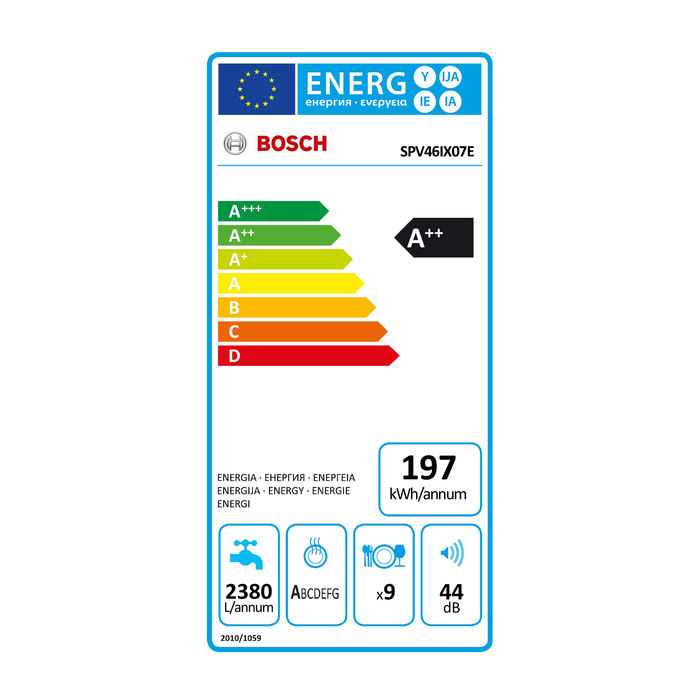 BOSCH SPV46IX07E - thumb - MediaWorld.it