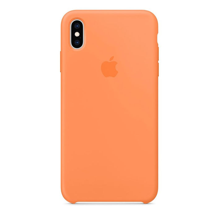 APPLE CUSTODIA SILICONE PER IPHONE XS MAX - PAPAYA - thumb - MediaWorld.it