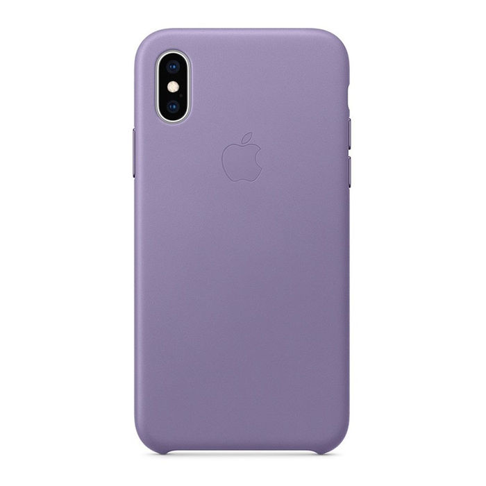 APPLE Custodia in pelle per iPhone XS - Lilla - thumb - MediaWorld.it