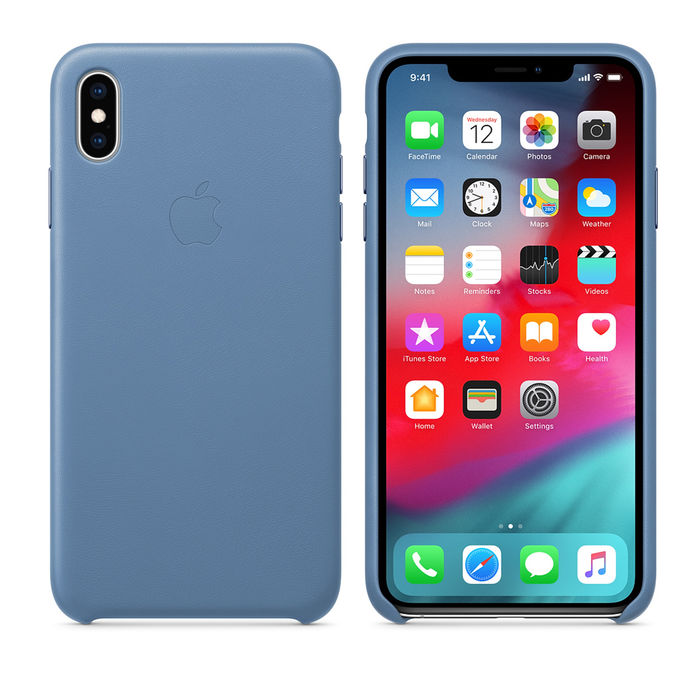 APPLE Custodia in pelle per iPhone XS Max - Fiordaliso - thumb - MediaWorld.it