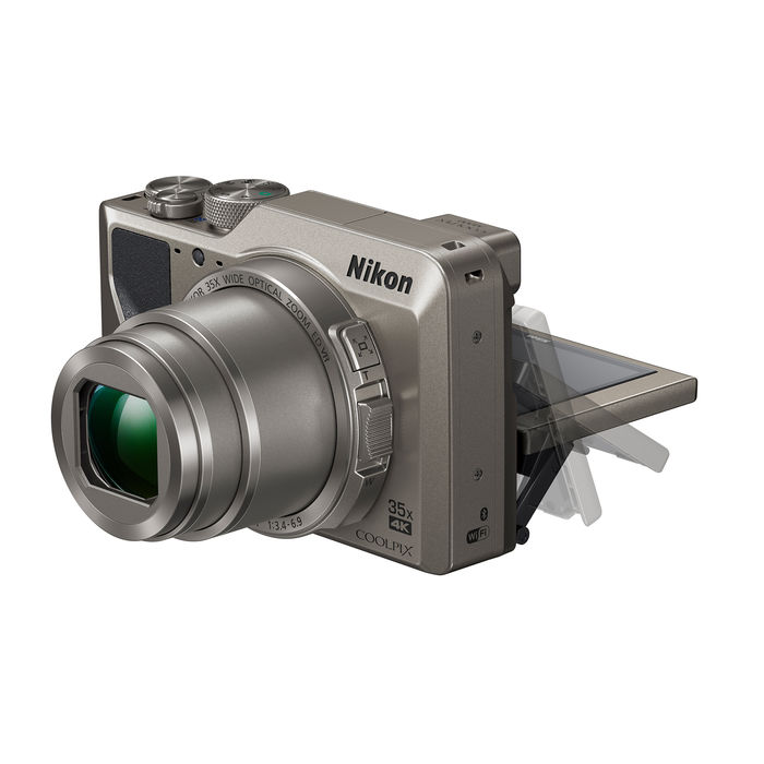 NIKON COOLPIX A1000 SILVER - thumb - MediaWorld.it