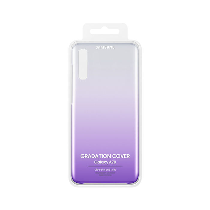 SAMSUNG Cover Gradation Galaxy A70 Viola - thumb - MediaWorld.it
