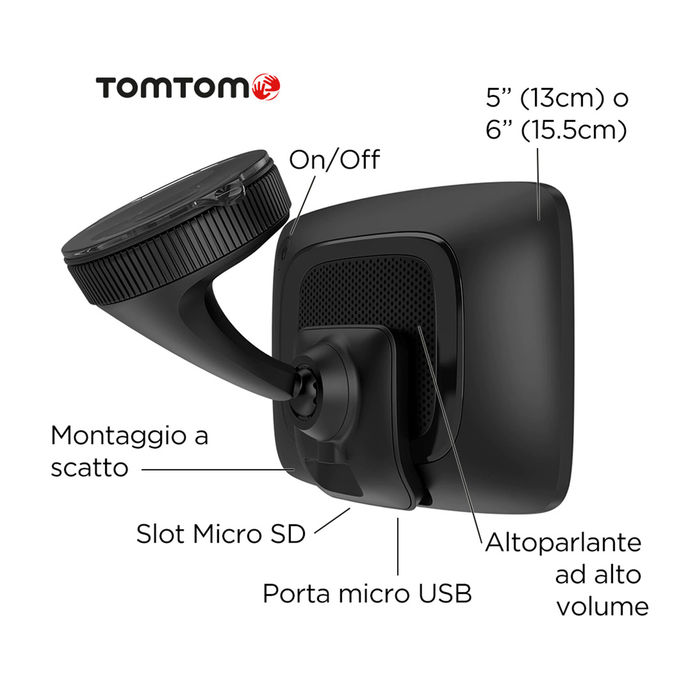 TOMTOM Go Premium 6 World - thumb - MediaWorld.it