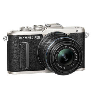 OLYMPUS E-PL8 1442IIR KIT BLK/BLK BLACK - thumb - MediaWorld.it